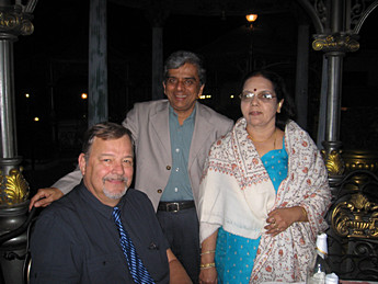 Peter, Rao  & his wife