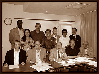 ISSI board meeting in Stockholm, 2005