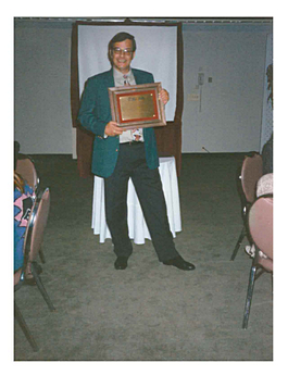 Lectureship Award, ASIST New Jersey, 1994